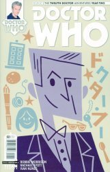 Titan Comics's Doctor Who: 12th Doctor Year Two Issue # 2d