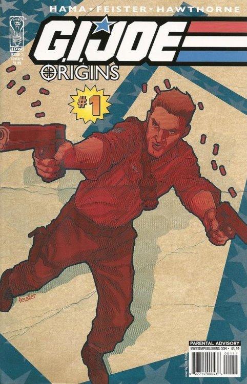 IDW Publishings GI Joe Origins Issue 1b