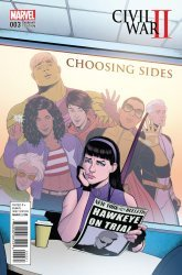 Marvel's Civil War II: Choosing Sides Issue # 3b