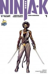 Valiant Entertainment's Ninja-K Issue # 1ssalefish