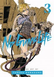 Viz Media's No Guns Life Soft Cover # 3