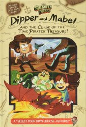 Disney Press's Gravity Falls: Dipper and Mabel and the Curse of the Time Pirates' Treasure! Hard Cover # 1