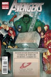 Marvel Comics's Avengers Assemble Issue # 1cb world