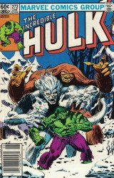 Marvel Comics's Incredible Hulk Issue # 272