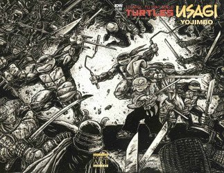 IDW Publishing's Teenage Mutant Ninja Turtles / Usagi Yojimbo Issue # 1sdcag
