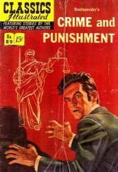 Gilberton Publications's Classics Illustrated #89: Crime and Punishment Issue # 4