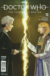 Titan Comics's Doctor Who: 13th Doctor Issue # 12c