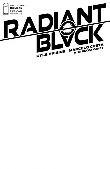 RADIANT BLACK #1 CVR A CHO IMAGE COMICS 2//10//21 FREE SHIPPING AVAILABLE