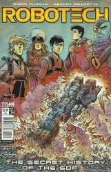 Titan Comics's Robotech Issue # 14