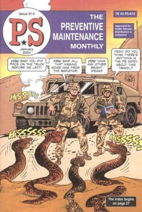 Army Book Magazine P.S The Preventive Maintenance Monthly Issue 662 Jan 2008