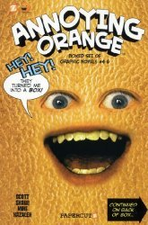 Papercutz's Annoying Orange Special box set 4-6