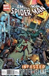 Marvel Comics's Amazing Spider-Man: Infested  Issue # 1b