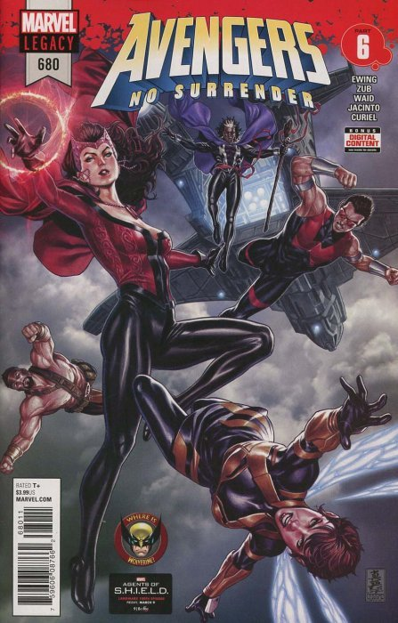 Marvel Comicss The Avengers Issue 680