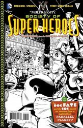 DC Comics's Multiversity: Society of Super-Heroes - Conquerors of the Counter-World Issue # 1b