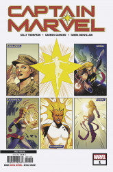 Marvel Comics's Captain Marvel Issue # 1-3rd print