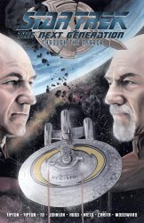 IDW Publishing's Star Trek the Next Generation: Through the Mirror TPB # 1