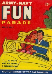 Harvey Publications's Army and Navy Fun Parade Issue V4-7