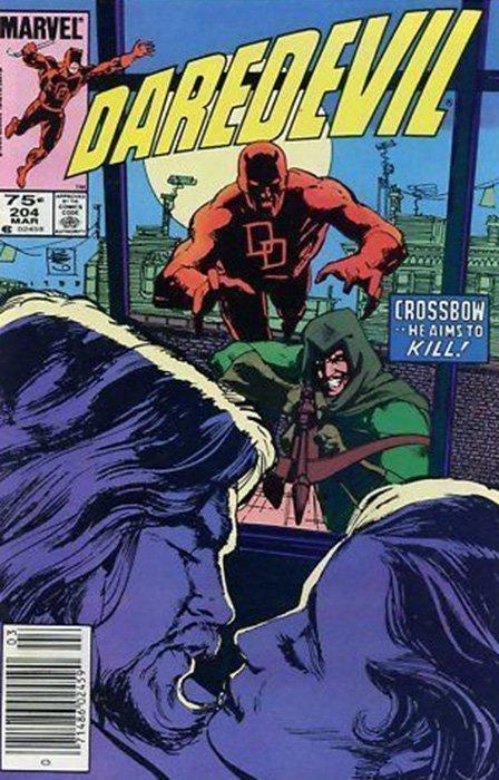 Marvel Comicss Daredevil Issue 204b