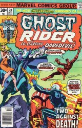 Marvel Comics's Ghost Rider Issue # 20
