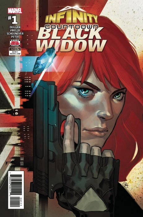 Infinity Countdown: Black Widow Issue # 1 (Marvel Comics)