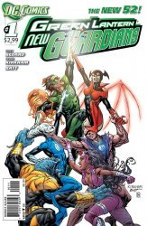 DC Comics's Green Lantern: New Guardians Issue # 1