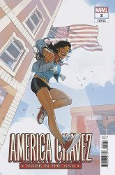 Marvel Comics's America Chavez: Made in the USA Issue # 2b