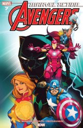 IDW Publishing's Marvel Action: Avengers Issue # 7b