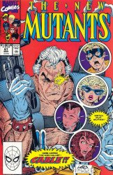 Marvel Comics's The New Mutants Issue # 87