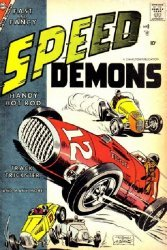 Charlton Comics's Speed Demons Issue # 8