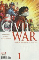 Marvel Comics's Marvels Snapshots: Civil War Issue # 1c