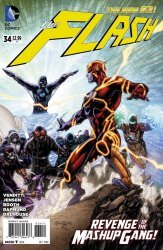 DC Comics's The Flash Issue # 34