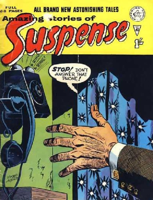 Image result for Amazing Stories of Suspense 42 Alan Class