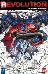 IDW Publishing's Transformers: Revolution Issue # 1lcs