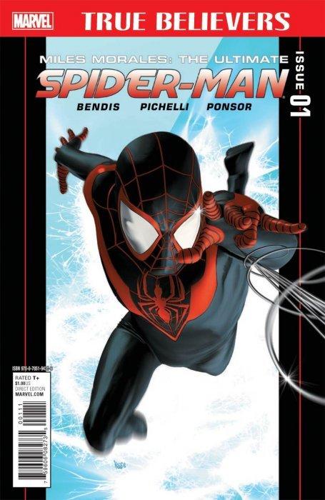 9.6.-9.8 Spider-Man # 1-Miles Morales-Variant-
