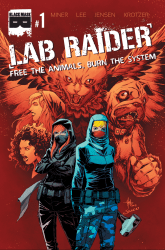 Black Mask Studios's Lab Raider Issue # 1