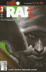 Valiant Entertainment's Rai Issue # 3c