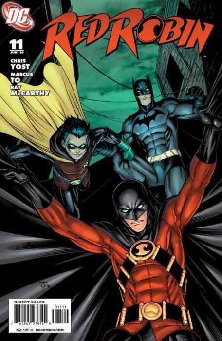 Red Robin 3 Dc Comics Comicbookrealm Com