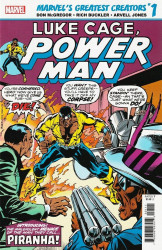 Marvel Comics's True Believers: Marvels Greatest Creators -  Luke Cage Power Man: Piranha Issue # 1