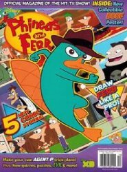 Disney Worldwide Publishing's Phineas and Ferb Issue # 13