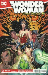 DC Comics's Wonder Woman: Come Back to Me Issue # 2