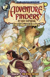 Action Lab Entertainment's Adventure Finders: The Edge Of Empire Issue # 4