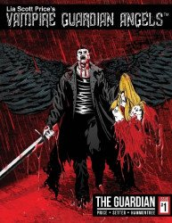 CreateSpace's Vampire Guardian Angels Issue # 1