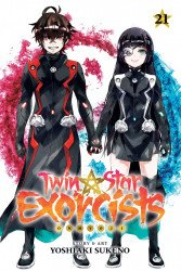 Viz Media's Twin Star Exorcists: Onmyouji Soft Cover # 21