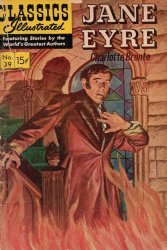 Gilberton Publications's Classics Illustrated #39: Jane Eyre Issue # 1h