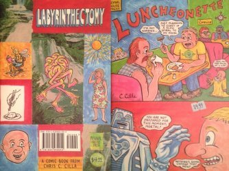 Alternative Comics's Labyrinthectomy Luncheonette Issue # 1