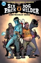 DC Comics's Sixpack and Dogwelder:The Hard-Traveling Heroz TPB # 1