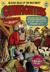 Super Comics's The Gunfighters Issue # 18