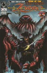 American Mythology's Zorro: Rise of the Old Gods Issue # 2