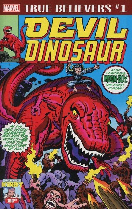 True Believers Jack Kirby 100th Devil Dinosaur 1