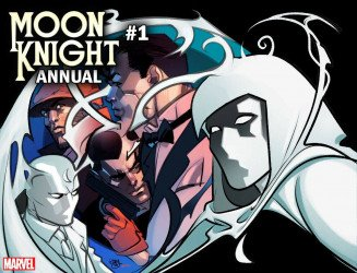 Marvel Comics's Moon Knight Annual # 1b